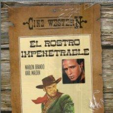 Cine: DVD CON PELICULA EN ESPAÑOL--EL ROSTRO IMPENETRABLE--MARLON BRANDO Y KARL MALDEN. Lote 47799857