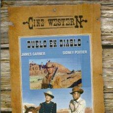Cine: DVD CON PELICULA EN ESPAÑOL--DUELO EN DIABLO--JAMES GARNER Y SIDNEY POITIER. Lote 47799917