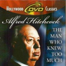 Cine: DVD CON PELICULA EN INGLÉS--EL HOMBRE QUE SABÍA DEMASIADO--ALFRED HITCHCOCK. Lote 47800086