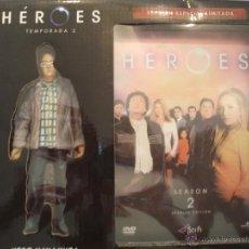 Cine: HEROES SERIE DVD SEGUNDA TEMPORADA EDICIÓN ESPECIAL LIMITADA ¡¡NUEVO!!. Lote 47828426