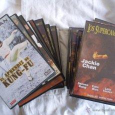 Cine: LOTE ARTES MARCIALES DVD KARATE KUNG-FU SHAOLIN JACKIE CHAN. NUEVOS, IMPECABLES, SIN ESTRENAR.. Lote 47828668