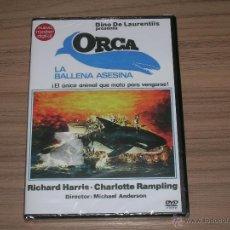 Cine: ORCA LA BALLENA ASESINA EDICION ESPECIAL NUEVO MASTER DIGITAL DVD RICHARD HARRIS NUEVA PRECINTADA. Lote 191332590