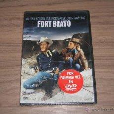 Cine: FORT BRAVO DVD DE JOHN STURGES WILLIAM HOLDEN ELEANOR PARKER NUEVA PRECINTADA. Lote 98544438
