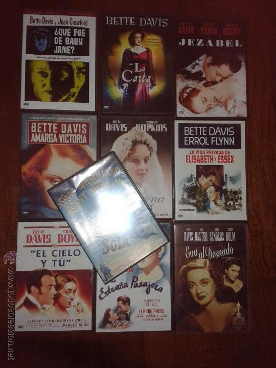 10 PELICULAS DE BETTE DAVIS EN DVD (Cine - Películas - DVD)