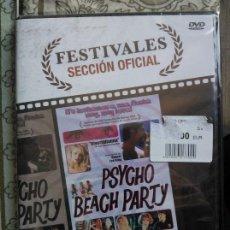 Cine: DVD PSYCHO BEACH PARTY (2000) - LAUREN AMBROSE - AMY ADAMS. Lote 47972828