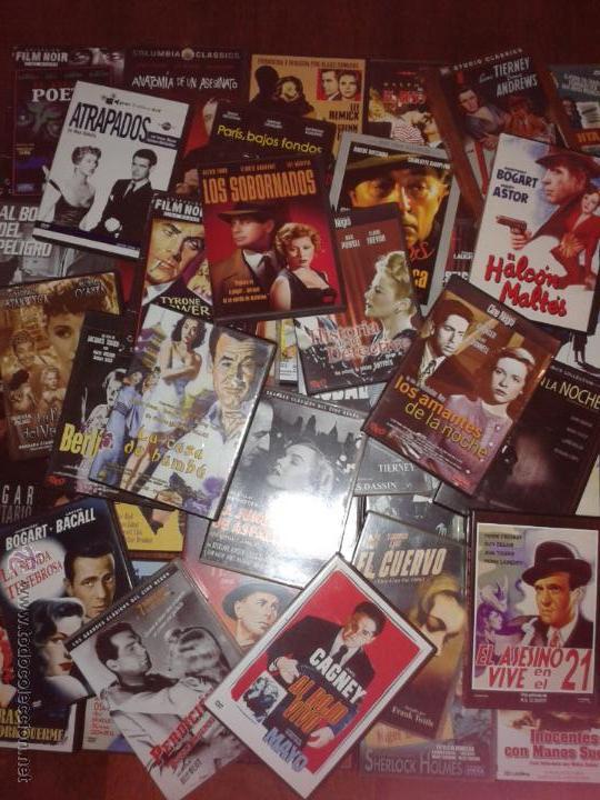 LOTE DE 42 PELICULAS DVD CINE NEGRO Y POLICIACO (Cine - Películas - DVD)