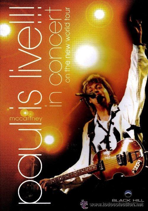 DVD PAUL MCCARTNEY - PAUL IS LIVE IN CONCERT - NUEVO Y PRECINTADO (Cine - Películas - DVD)