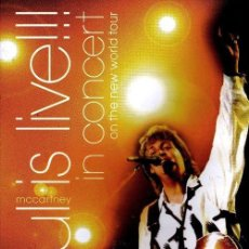 Cine: DVD PAUL MCCARTNEY - PAUL IS LIVE IN CONCERT - NUEVO Y PRECINTADO. Lote 47983997