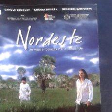 Cine: NORDESTE **DE JUAN SOLANAS CON AYMARA ROVERA, CARLOS BERMEJO, CAROLE BOUQUET *PREMIADA*. Lote 48113576