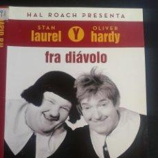 Cine: FRA DIAVOLO ***** THE DEVIL´S BROTHER ***STAN LAUREL, OLIVER HARDY **DESCATALOGADA** . Lote 48159068