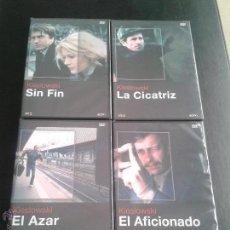 Cine: KIESLOWSKI **LOTE 4 FILMS **NUEVAS ** SIN FIN **LA CICATRIZ**EL AFICIONADO**EL AZAR. Lote 48194699