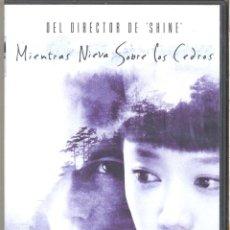 Cine: MIENTRAS NIEVA SOBRE LOS CEDROS DVD: UNA HISTORIA HIPNOTIZANTE Y CAUTIVADORA. DESCATALOGADA. Lote 270377218