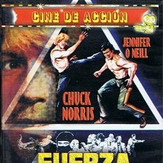 Cine: DVD FUERZA 7 CHUCK NORRIS. Lote 48376376