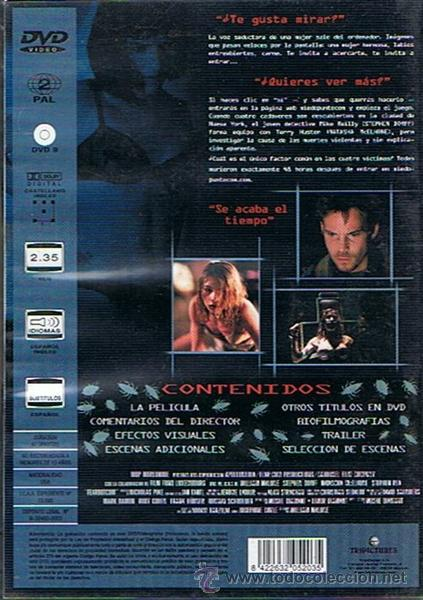 Cine: DVD MIEDO PUNTO COM STEPHEN DORFF - Foto 2 - 48416172