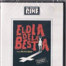 Cine: EL DIA DE LA BESTIA - ALEX DE LA IGLESIA - DVD 2003 - UN PAIS DE CINE - NUEVO PRECINTADO. Lote 48554960