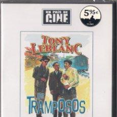 Cine: LOS TRAMPOSOS - PEDRO LAZAGA - DVD 2003 - UN PAIS DE CINE. NUEVO PRECINTADO. Lote 48555404