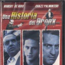 Cine: UNA HISTORIA DEL BRONX - ROBERT DE NIRO - DVD 2006 - PRODUCCIONES JRB. NUEVO PRECINTADO. Lote 48558479