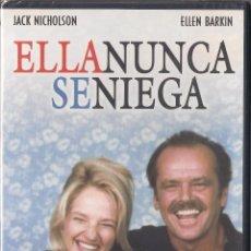 Cine: ELLA NUNCA SE NIEGA - BOB RAFELSON - DVD 2007 - PRODUCCIONES JRB. NUEVO PRECINTADO. Lote 48558875