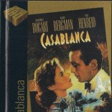 Cine: CASABLANCA - LIBRO DVD - EL PAIS COLECCIÓN CINE DE ORO Nº 1 - 2005. Lote 48563722