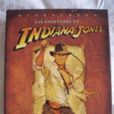 Cine: LAS AVENTURAS DE INDIANA JONES- LA TRILOGIA EN DVD. NUEVO, IMPECABLE, SIN ESTRENAR.. Lote 48603301