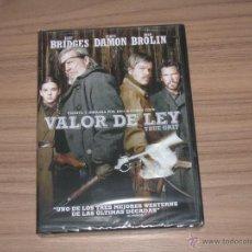 Cine: VALOR DE LEY DVD TRUE GRIT JEFF BRIDGES MATT DAMON NUEVA PRECINTADA. Lote 98850214