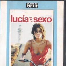 Cine: LUCIA Y EL SEXO - JULIO MEDEM - DVD 2003 - UN PAIS DE CINE 2. Lote 48620963