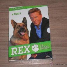 Cine: REX UN POLICIA DIFERENTE TEMPORADA 10 COMPLETA 4 DVD 600 MIN. NUEVA PRECINTADA. Lote 173996864