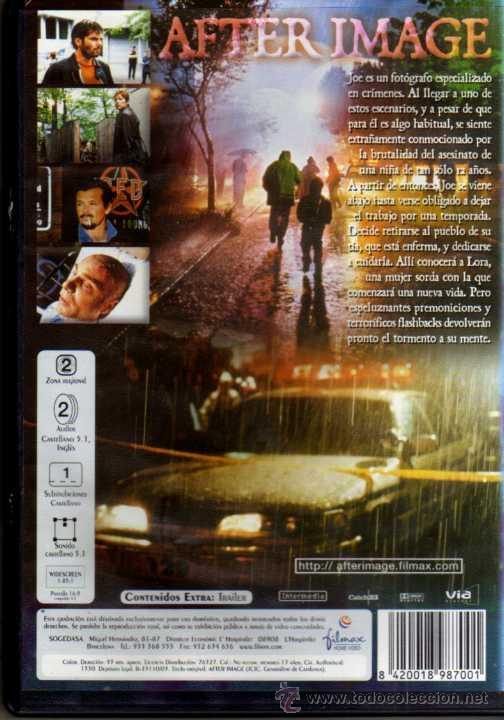 Cine: DVD - AFTER IMAGE - Foto 2 - 48748353