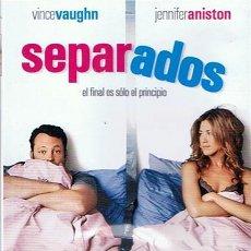 Cine: DVD SEPARADOS VINCE VAUGHN - JENNIFER ANISTON. Lote 48752523