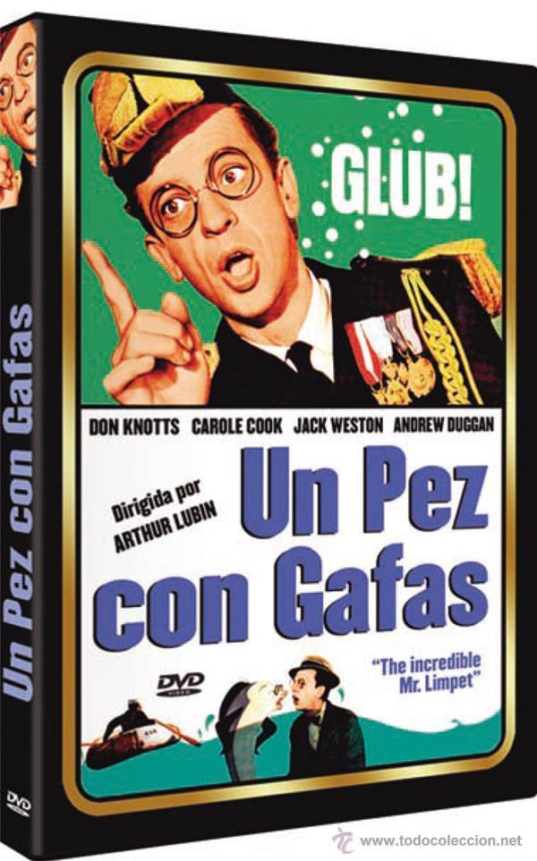 Un Pez Con Gafas (The Incredible Mr. Limpet) segunda mano