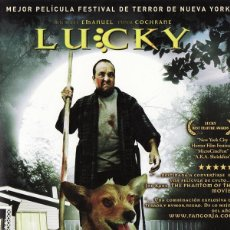 Cine: LUCKY. Lote 131278127