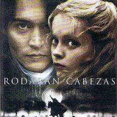 Cine: DVD SLEEPY HOLLOW (RODARAN CABEZAS) JOHNNY DEPP. Lote 100571716
