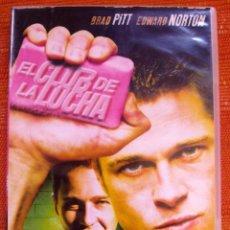 Cine: DVD EL CLUB DE LA LUCHA CON BRAD PITT Y EDWARD NORTON. Lote 48890671
