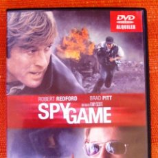 Cine: DVD SPY GAMES CON ROBERT REDFORD Y BRAD PITT. Lote 48890775