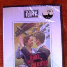 Cine: DVD LA HORA DE LOS VALIENTES CON GABINO DIEGO. Lote 48891033