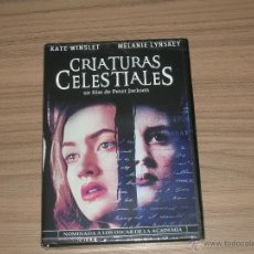 Cine: CRIATURAS CELESTIALES DVD DE PETER JACKSON KATE WINSLET TERROR NUEVA PRECINTADA. Lote 144205984