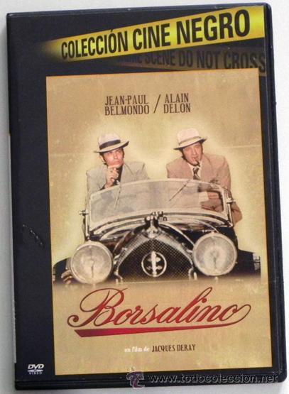 BORSALINO DVD PELÍCULA ACCIÓN SUSPENSE - JEAN-PAUL BELMONDO ALAIN DELON - GÁNSTERES MARSELLA GÁNSTER (Cine - Películas - DVD)
