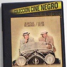 Cine: BORSALINO DVD PELÍCULA ACCIÓN SUSPENSE - JEAN-PAUL BELMONDO ALAIN DELON - GÁNSTERES MARSELLA GÁNSTER. Lote 48917236