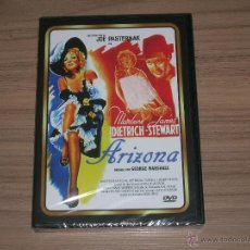 Cine: ARIZONA DVD JAMES STEWART MARLENE DIETRICH NUEVA PRECINTADA. Lote 277715308