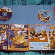 Cine: LOTE 2 DVD'S': GARFIELD (1 Y 2) (TWENTIETH CENTURY FOX, 2004-06) ¡ORIGINALES!. Lote 48931909