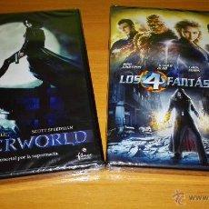 Cine: ¡ LOTE DE DOS DVDS ¡ NUEVOS ¡ LOS 4 FANTASTICOS Y UNDERWORLD ¡. Lote 48944289