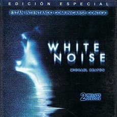 Cine: DVD WHITE NOISE MICHAEL KEATON (EDICIÓN ESPECIAL DOS DISCOS). Lote 48992849