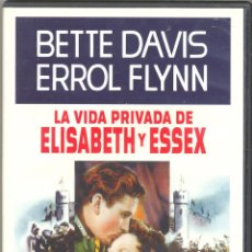 Cine: LA VIDA PRIVADA DE ELISABETH Y ESSEX DVD: LA PASIÓN Y LA CORONA SON DIFÍCILES DE LLEVAR CON DIGNIDAD. Lote 49008241