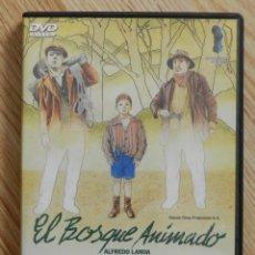 Cine: DVD EL BOSQUE ANIMADO DE JOSE LUIS CUERDA CON ALFREDO LANDA . Lote 49054672