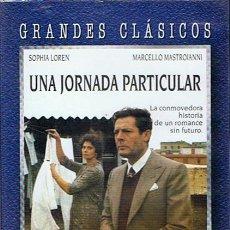 Cine: DVD UNA JORNADA PARTICULAR SOPHIA LOREN - MARCELO MASTROIANI . Lote 49088229
