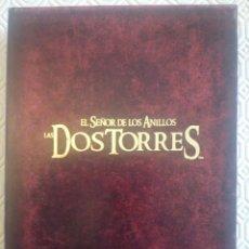 Cine: EL SEÑOR DE LOS ANILLOS: LAS DOS TORRES: VERSIÓN EXTENDIDA (4 DVD). Lote 49096746