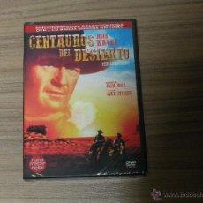 Cine: CENTAUROS DEL DESIERTO EDICION ESPECIAL COLECCIONISTAS DVD + CD BANDA SONORA + EXTRAS NUEVA PRECINTA. Lote 191310625