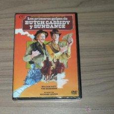 Cine: LOS PRIMEROS GOLPES DE BUTCH CASSYDY Y SUNDANCE (DOS HOMBRES Y UN DESTINO 2) DVD NUEVA PRECINTADA. Lote 205660392