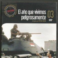 Cine: DVD - EL AÑO QUE VIVIMOS PELIGROSAMENTE - DIR. PETER WEIR. Lote 49151734