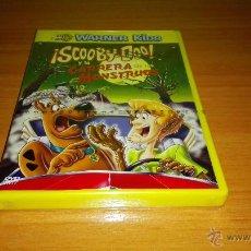 Cine: DVD DE SCOOBY DOO ¡ CARRERA DE MOSTRUOS ¡ PRECINTADO ¡. Lote 49167463